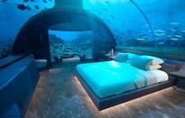 Choáng hợp với biệt thự dưới đáy biển đầu tiên tại Maldives