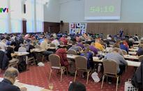 Hàng trăm người tranh tài giải vô địch thế giới Sudoku