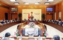 Khai mạc phiên họp thứ 29 của Ủy ban Thường vụ Quốc hội