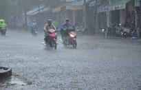 Tiếp tục ghi nhận các điểm mưa to đến rất to ở miền Trung