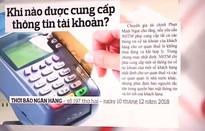 Tranh chấp đề xuất ngân hàng cung cấp thông tin tài khoản cho thuế