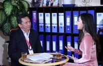 GLTT với Trưởng Ban tổ chức Liên hoan Truyền hình toàn quốc 38