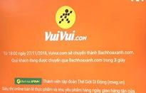 """Vuivui.com """"ngậm ngùi"""" đóng cửa"""
