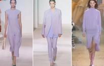 Chọn trang phục màu tím lavender cho mùa Đông nhẹ nhàng