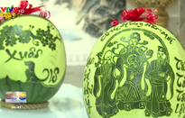 Khám phá nghệ thuật điêu khắc trái cây ngày Tết