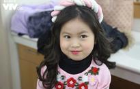 Con gái MC Thu Hương xinh như thiên thần