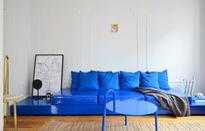 Tô điểm màu xanh cho căn hộ thêm phần nổi bật