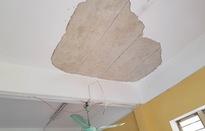 Vụ rơi mảng vữa trần trong lớp học: 3 học sinh bị thương đã xuất viện
