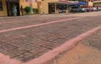 Vỉa hè thân thiện với môi trường tại Ghana