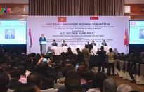 Thủ tướng Nguyễn Xuân Phúc dự Diễn đàn Doanh nghiệp Việt Nam - Singapore