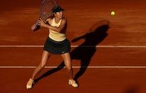 Rome mở rộng 2018: Sharapova thắng nhọc trận ra quân