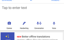 Cách dịch văn bản không cần Internet