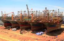 5 tàu vỏ thép nằm bờ vẫn chưa được bồi thường