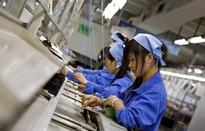 Nhiều công nhân Trung Quốc từ bỏ ngành sản xuất