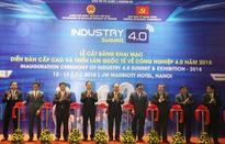Thủ tướng tham dự Diễn đàn cấp cao và Triển lãm quốc tế về công nghiệp 4.0