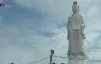 Hoàn thành tượng Phật bà Quan Âm Nam Hải nặng trên 100 tấn