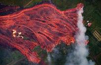 Dung nham từ núi lửa Kilauea phá hủy kết cấu đảo Hawaii