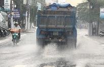 Ngày 20/7, mưa tiếp diễn trên diện rộng ở các tỉnh từ Thanh Hóa - TT - Huế
