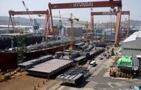 Ngành đóng tàu Hàn Quốc rơi vào khủng hoảng