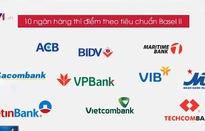 Mới có 2/10 ngân hàng chờ chấp thuận đạt chuẩn Basel II