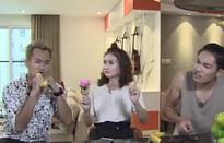 """Hương Giang & Đình Tú mắt chữ A, mồm chữ O khi Anh Tuấn hăng say """"bắn"""" rap"""