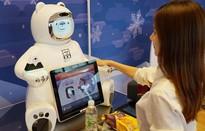 """Robot """"tấn công"""" các nhà hàng ở Hàn Quốc"""