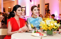 Đỗ Mỹ Linh, Ngọc Hân đọ sắc cùng top 3 Hoa hậu Áo 2018