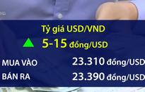 Tỷ giá trung tâm chinh phục mức đỉnh mới