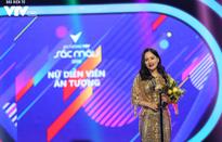 """""""Người điên"""" Lan Phương xuất sắc giành giải Diễn viên nữ ấn tượng VTV Awards 2018"""