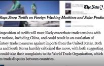 Tác động của việc Mỹ áp dụng chính sách thuế mới với hàng nhập khẩu?