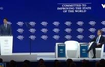 Nhiều nước lên tiếng bảo vệ tự do hóa thương mại tại Diễn đàn Davos 2018