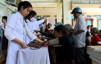 Khám, chữa bệnh miễn phí cho các gia đình chính sách tại Kông Chro, Gia Lai