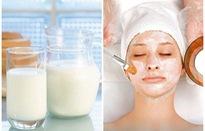 Cách trộn mặt nạ sữa tươi cho làn da ngày Đông