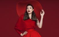 Phạm Hương quyến rũ với sắc đỏ