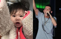 Trần Quán Hy thích thú khoe ảnh con gái
