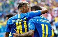 Brazil 2-0 Costa Rica: Coutinho sắm vai người hùng, Neymar ghi bàn thắng đầu tiên tại World Cup 2018