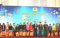 Hà Nam trao 1.200 suất quà Tết cho công nhân