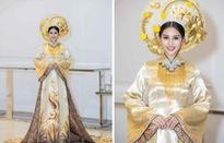 Hoa hậu Tiểu Vy quyền lực như Hoàng hậu trên sân khấu ở Hạ Long