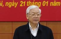 Tổng Bí thư, Chủ tịch nước Nguyễn Phú Trọng: Không ngập ngừng trong công tác phòng chống tham nhũng