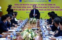 Trưởng ban Kinh tế Trung ương Nguyễn Văn Bình thăm, làm việc tại tỉnh Quảng Ngãi