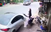 Một phụ nữ thoát chết trong gang tấc tại Nam Định