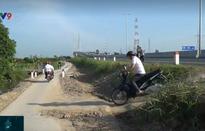 Hỗn loạn giao thông dưới chân cầu Cao Lãnh
