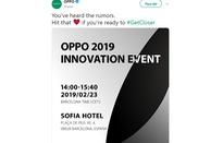 Oppo sẽ mang đến MWC 2019 mẫu smartphone cao cấp?