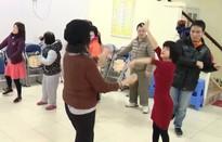 Buổi sáng ở lớp học hạnh phúc của trẻ khuyết tật