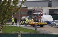 39 người thiệt mạng trong thùng xe ở Anh