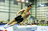 """SEA Games 30: Dàn """"hot boy"""" Thể dục dụng cụ Việt Nam tích cực luyện tập tại Manila để tranh HCV"""