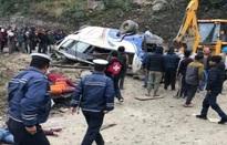 Tai nạn xe bus thảm khốc ở Nepal, ít nhất 14 người thiệt mạng