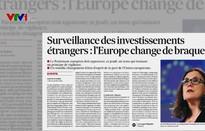 EU kiểm soát đầu tư trực tiếp nước ngoài qua góc nhìn báo chí châu Âu