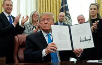 Tổng thống Mỹ ký sắc lệnh hướng đến thành lập Lực lượng Vũ trụ