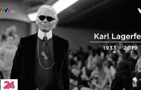 Giới mộ điệu và người hâm mộ thương tiếc Karl Lagerfeld